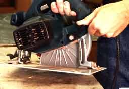 how to set cut depth of circular saw