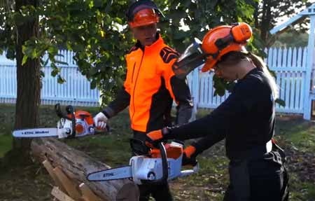 Chainsaw Safety Protector