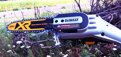 Dewalt Pole Chainsaw for Tree Trimming