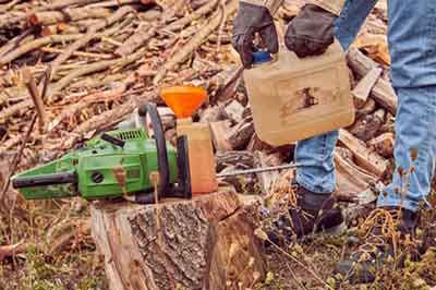 Fuelling in the Chainsaw