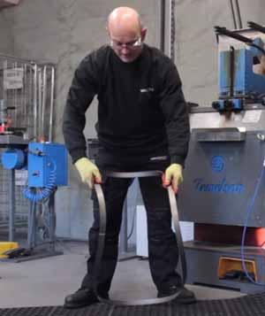 Bandsaw Blade Folding Technic