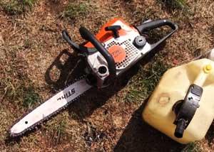 Chainsaw Lubrication