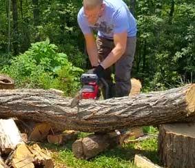 Craftsman V60 Cordless Chainsaw