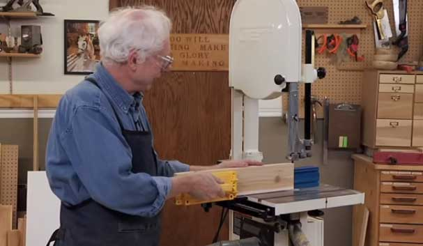 Pushblock Using for Bandsaw
